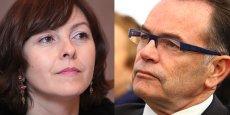 Carole Delga et le Christian Teyssèdre s'opposeront à la primaire socialiste pour les Régionales 2015.