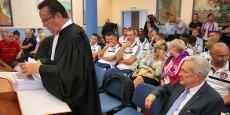 Maître Bertrand, avocat du Luzenac Ariège Pyrénées, va de nouveau tenter de convaincre le juge des référés de réintégrer Luzenac en Ligue 2