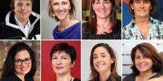 Béatrice Rodriguez, Karine Cottin, Valérie Baillat, Sylvie Castres-Salvan, Sabine Barra, Monique Dufresne, Carole Léonard et Agnès Timbre sont les lauréates des LTWA 2014