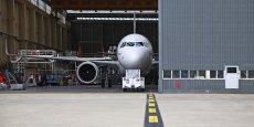 A320neo avait subi des tests de roulage avant le premier vol d'essai