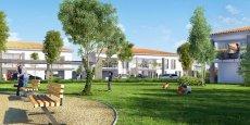 Les bastides de Flore à Launaguet sont commercialisées par Marignan immobilier.