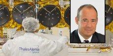 Jean-Loïc Galle, PDG de Thales Alenia Space