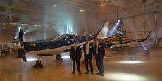 L'avionneur tarbais a annoncé 64 prises de commandes en de son avion turbopropulseur TBM en 2014