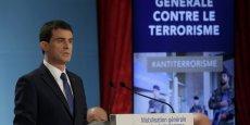 Le projet de loi sur le renseignement sera  transmis au Parlement début mars, après avoir été présenté le plus vite possible en Conseil de ministres, a affirmé Manuel Valls.