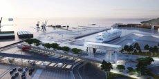 La future gare maritime de Sète sera terminée en 2020.