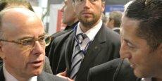 Le mardi 20 janvier intervenaient en plénière les ministres de l'Intérieur français et allemand, Bernard Cazeneuve (à gauche) et Thomas de Maizière.