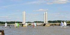 Le pont Chaban-Delmas a participé au désenclavement du quartier des Bassins à flot