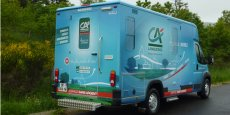 Depuis juin 2014, l'agence mobile du Crédit Agricole sillonne les routes de Lozère.