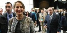 Ségolène Royal (ce matin au Palais des congrès) n'a pas d'inquiétude pour l'application de sa loi