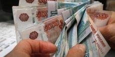 Le rouble est fortement impacté par la chute du pétrole.