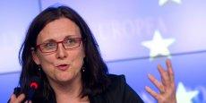 Cecilia Malmström, la Commissaire en charge du Commerce à Bruxelles.