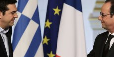 Notre objectif est de respecter la souveraineté du peuple grec et le mandat clair de notre peuple, a déclaré Alexis Tsipras au côté de Martin Schulz, président du Parlement européen.