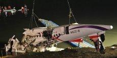 Les deux moteurs de l'ATR 72-600 victime d'un spectaculaire accident à Taïwan ne fonctionnaient plus au moment du crash de l'appareil dans une rivière