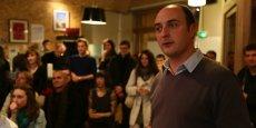 Mathieu Genty, fondateur de Cowork et de l'accélérateur de start-up Le Phare.