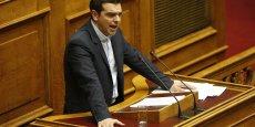 Le Premier ministre a annoncé sa décision de porter graduellement le salaire minimum grec de 580 euros à 750 d'ici 2016 et la réinstallation par une loi de l'ancienne télé publique, ERT, fermée en juin 2013.