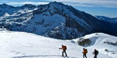 Raid raquette dans le massif des Encantats (Val d'Aran)