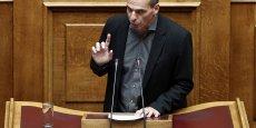 Yanis Varoufakis, ministre des Finances hellénique