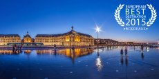 La ville de Bordeaux s'est défait de la ville de Lisbonne pour remporter le titre de European Best Destination 2015