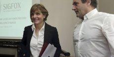Anne Lauvergeon et Ludovic Le Moan, respectivement présidente du conseil d'administration et PDG de Sigfox, veulent faire de leur solution un standard.