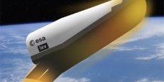 IXV est le premier avion spatial européen.