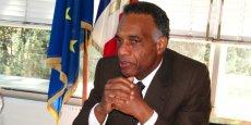 Le préfet de l'Isère, Richard Samuel, lors de son entrée en fonctions en août 2012.