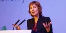 Anne Bouverot, la directrice directrice générale de l'association mondiale des opérateurs mobiles (GSMA).
