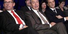 Philippe Laurent, à gauche, élu avec François Baroin a la direction de l'Association des Maires de France, croit que la Métropole sera celle des maires