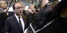 Les agriculteurs sont confrontés à une double responsabilité : produire et puis faire en sorte qu'il n'y ait plus autant de gaz à effet de serre, a déclaré François Hollande.