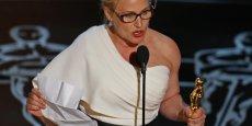 Le discours de Patricia Arquette a été applaudi par Meryl Streep, Jennifer Lopez, Shirley MacLane, et a été largement relayé sur Twitter.
