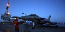 Les premiers avions de chasse Rafale ont décollé du porte-avions -situé au nord de Bahreïn- ce matin.
