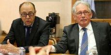 Bernard Ballester (CCI de Narbonne) et Daniel Galy (CCI de Béziers)