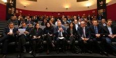 La présentation des candidats de la liste de la droite et du centre le 16 janvier dernier à Toulouse