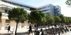 Le site de Richter à Montpellier, où l'ISEM et l'AES sont voisins