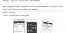 Sur son site Internet, Setavoo dévoile Popvox, l'application dont elle aimerait qu'elle devienne un Blablacar de la citoyenneté