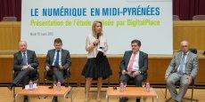 L'étude de Digital place a été présentée mardi soir à l'hôtel de Région de Toulouse.