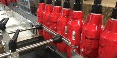 Entre les différentes gammes et contenances de Betadine (ici la Betadine Scrub, savon antiseptique) le site Meda Manufacturing de Mérignac et ses 230 salariés fournissent 39 millions d'unités chaque année sur le marché de la lutte contre les infections