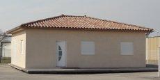 Le nouveau système de construction Logelis permet de bâtir une maison de ce type en deux mois.
