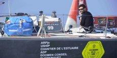 La course... contre la montre est lancée pour le bouclage du budget du skipper Clément Salzes, candidat à la Solitaire du Figaro 2015