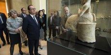 Fleur Pellerin a souligné comme François Hollande que la culture est une contre-attaque massive contre le terrorisme et l'obscurantisme.