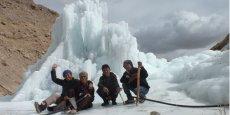 Cette pyramide de glace, baptisée « Ice Stupa », permet de stocker facilement l'eau de pluie et des rivières sans avoir besoin de réservoir ou de citerne.