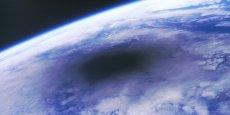 Vu depuis la station Mir, voilà à quoi ressemblait une éclipse solaire en 1999 vue depuis l'espace.