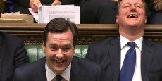 Le ministre britannique a déclaré la croissance a été sept fois plus élevée qu'en France en 2014.