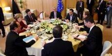 Le mini-sommet du 19-20 mars à Bruxelles.