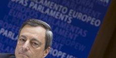 Mario Draghi a également minimisé les spéculations selon lesquelles les récents signes de reprise de l'économie dans la zone euro pourraient inciter la banque à revoir en baisse son plan de rachats.