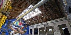 Une partie des halles a déjà été transformée en un lieu dédié à l'événementiel, l'espace Cobalt.