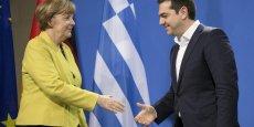 Les deux dirigeants devaient participer lundi soir à un dîner au cours duquel les réformes réclamées à la Grèce devraient être discutées plus en profondeur.