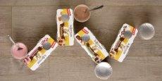 Pour diversifier sa production la Laiterie de la Bresse commercialise une première gamme de desserts.