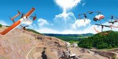 En brevetant un processus de décollage et d'atterrissage vertical, l'entreprise a pu réduire la consommation énergétique des appareils.  Ils peuvent voler à 120 ou 180 km/h et disposent d'une autonomie de 45 mn ou 1 heure selon le modèle.