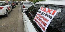 Les taxis toulousains ont déjà manifesté contre Uber Pop le 26 mars 2015