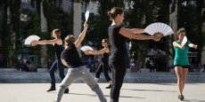 La danse des éventails, par Katy Beziex